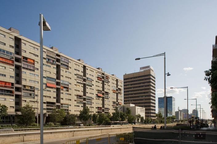 Gran Vía, Barcelona, 2008